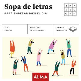 SOPAS DE LETRAS PARA EMPEZAR BIEN EL DIA