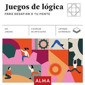 JUEGOS DE LÓGICA PARA DESAFIAR TU MENTE (CUADRADOS DE DIVERSIÓN)