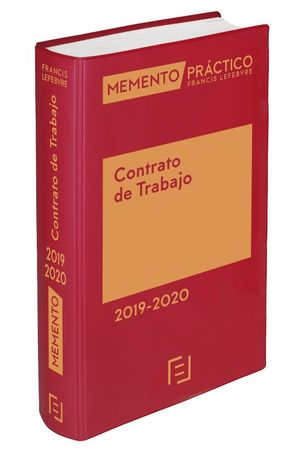 MEMENTO PRÁCTICO CONTRATO DE TRABAJO 2019-2020