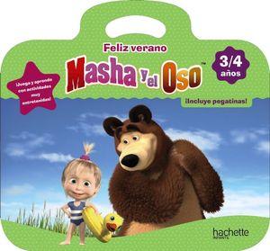 FELIZ VERANO MASHA Y EL OSO 3-4 AÑOS