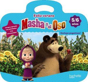 (19).FELIZ VERANO MASHA Y OSO.(5-6 AÑOS).(VACACIONES)