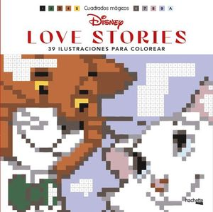 CUADRADOS MÁGICOS: DISNEY LOVE STORIES