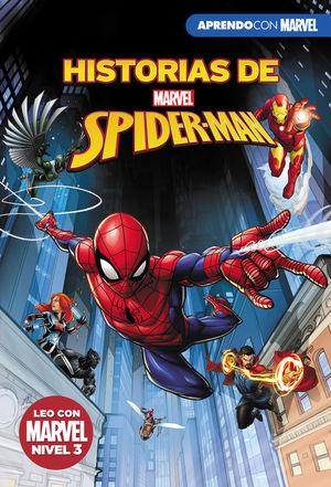 HISTORIAS DE SPIDER-MAN. LEO CON MARVEL NIVEL 3