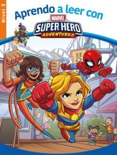 MARVEL SUPERHERO ADVENTURES. NIVEL 3 (APRENDO A LEER CON MARVEL)