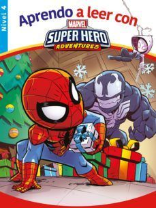 APRENDO A LEER CON SUPER HERO ADVENTURES. NIVEL 4