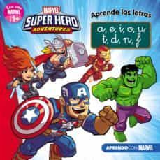 MARVEL SUPERHERO ADVENTURES. APRENDE LAS LETRAS