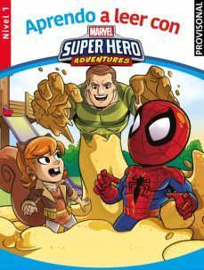 MARVEL SUPERHERO ADVENTURES. NIVEL 1 (APRENDO A LEER CON MARVEL)