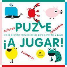 PUZLE ¡A JUGAR! COLORES, ANIMALES, NUMEROS (+24 MESES)