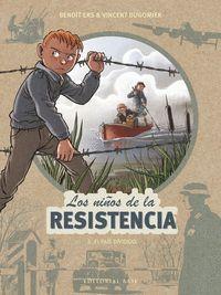 NIÑOS RESISTENCIA, 5 PAIS DIVIDIDO