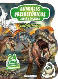 DINOSAURIOS - ANIMALES PREHISTORICOS. JUEGA Y COLOREA