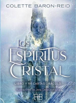 LOS ESPÍRITUS CRISTAL. LIBRO Y 58 CARTAS ORACULO