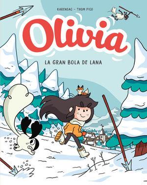 OLIVIA 3. OLIVIA Y LA GRAN BOLA DE LANA