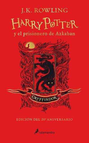 HARRY POTTER Y EL PRISIONERO DE AZKABAN (EDICIÓN GRYFFINDOR 20 ANIV.)