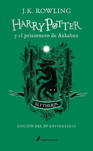 HARRY POTTER Y EL PRISIONERO DE AZKABAN (EDICIÓN SLYTHERIN 20 ANIV.)