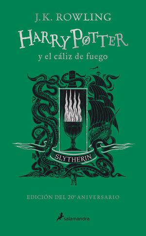 HARRY POTTER Y EL CÁLIZ DE FUEGO (EDICIÓN SLYTHERIN DEL 20º ANIVERSARIO)