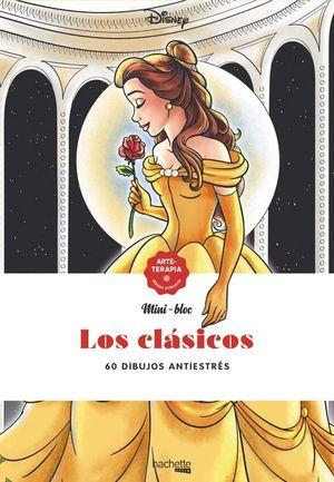 MINI-BLOC LOS CLASICOS DISNEY. 60 DIBUJOS ANTIESTRES
