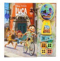 LUCA. CINE EN CASA (CUENTO Y PROYECTOR)
