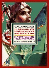 ESTUCHE CLARA CAMPOAMOR: REVOLUCION ESPAÑOLA/VOTO FEMENINO