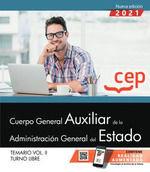 CUERPO GENERAL AUXILIAR ADMINISTRACION ESTADO VOL 2