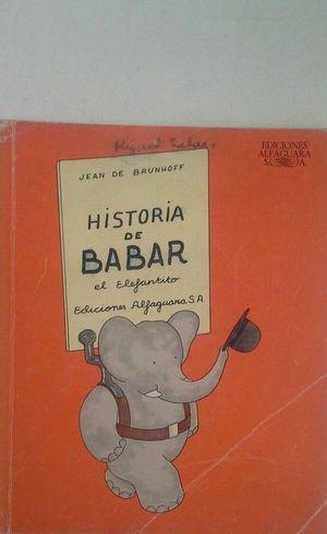 HISTORIA DE BABAR, EL ELEFANTITO