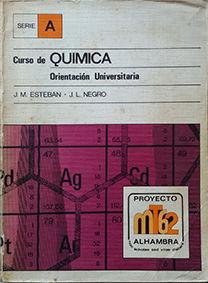 CURSO DE QUÍMICA. ORIENTACIÓN UNIVERSITARIA