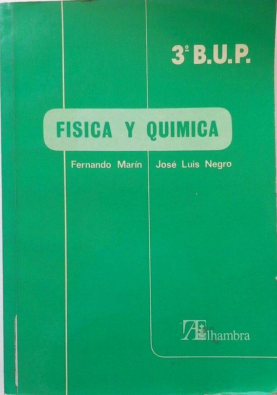 FÍSICA Y QUÍMICA, 3 BUP