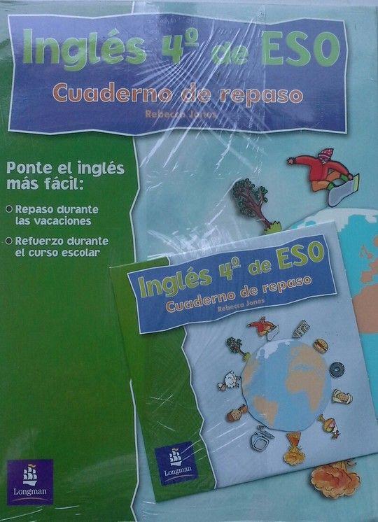 INGLÉS 4 ESO. CUADERNO DE REPASO. SOLUCIONARIO + CD