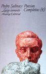 POESIAS COMPLETAS (4). LARGO LAMENTO
