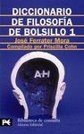 DICCIONARIO DE FILOSOFIA DE BOLSILLO 1
