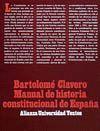MANUAL DE HISTORIA CONSTITUCIONAL DE ESPAÑA