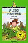 LEYENDA DE BONY MARTIN