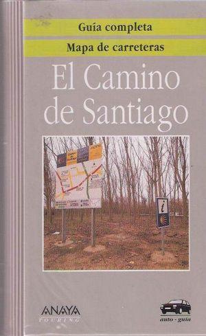 EL CAMINO DE SANTIAGO - GUÍA COMPLETA + MAPA DE CARRETERAS Y RUTA DE PEREGRINOS