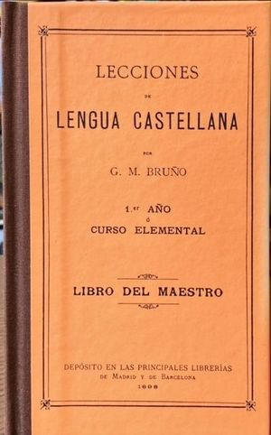LECCIONES DE LENGUA CASTELLANA. LIBRO DEL MAESTRO