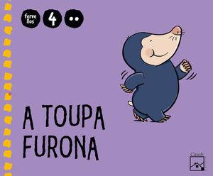 A TOUPA FURONA 2.º TRIMESTRE 4 ANOS. FERVELLOS