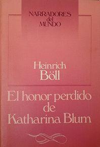 EL HONOR PERDIDO DE KATHARINA BLUM