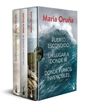 ESTUCHE MARÍA ORUÑA: LOS LIBROS DEL PUERTO ESCONDIDO