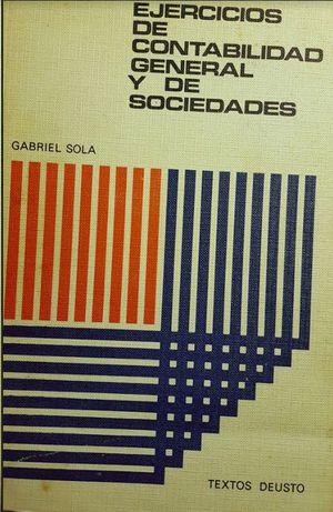 EJERCICIOS DE CONTABILIDAD GENERAL Y DE SOCIEDADES