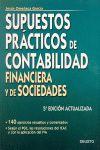 SUPUESTOS PRÁCTICOS DE CONTABILIDAD FINANCIERA Y DE SOCIEDADES: 140 EJ