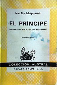 EL PRÍNCIPE (COMENTADO POR NAPOLEON BONAPARTE)