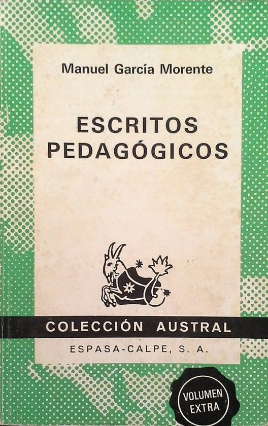 ESCRITOS PEDAGÓGICOS.