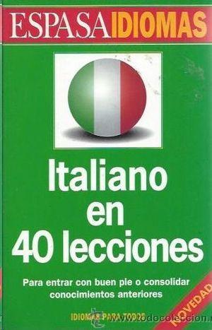 ITALIANO EN 40 LECCIONES