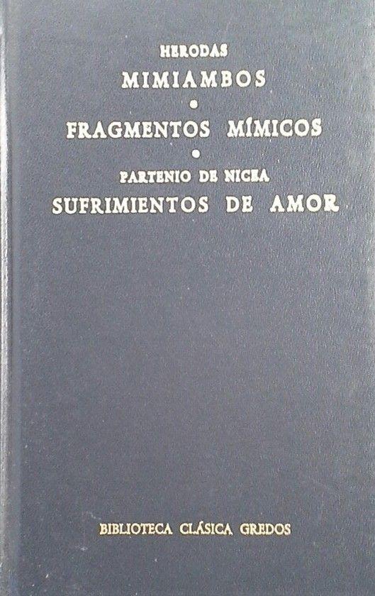 MIMIAMBOS FRAGMENTOS MIMICOS SUFRIMIENTO