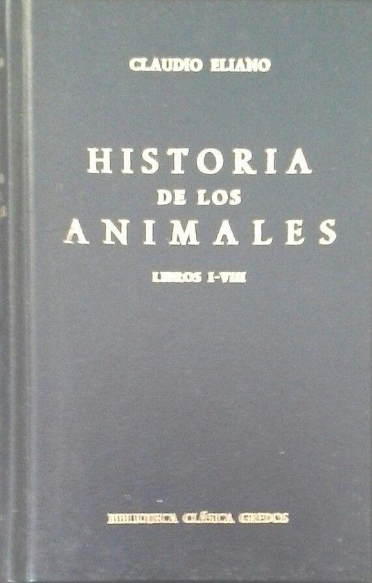 HISTORIA ANIMALES LIBROS I-VIII