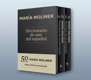DICCIONARIO DE USO DEL ESPAÑOL MARIA MOLINER (2 VOLS.)