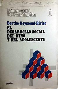EL DESARROLLO SOCIAL DEL NIÑO Y DEL ADOLESCENTE