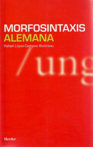 MORFOSINTAXIS ALEMANA