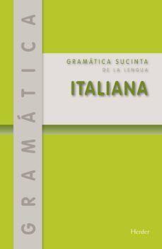 GRAMÁTICA SUCINTA DE LA LENGUA ITALIANA