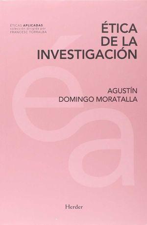 ÉTICA DE LA INVESTIGACIÓN