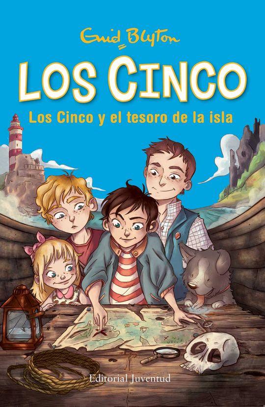 LOS CINCO 1. LOS CINCO Y EL TESORO DE LA ISLA