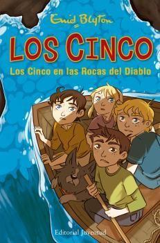 LOS CINCO 19: LOS CINCO EN LAS ROCAS DEL DIABLO